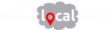 Think Local Design Digital Marketing Logo