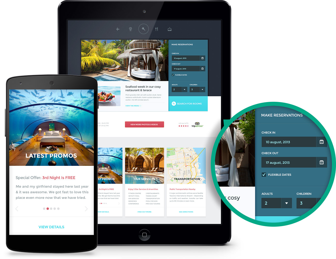 Custom Hotel Websites
