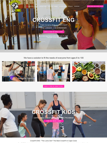 gym websites